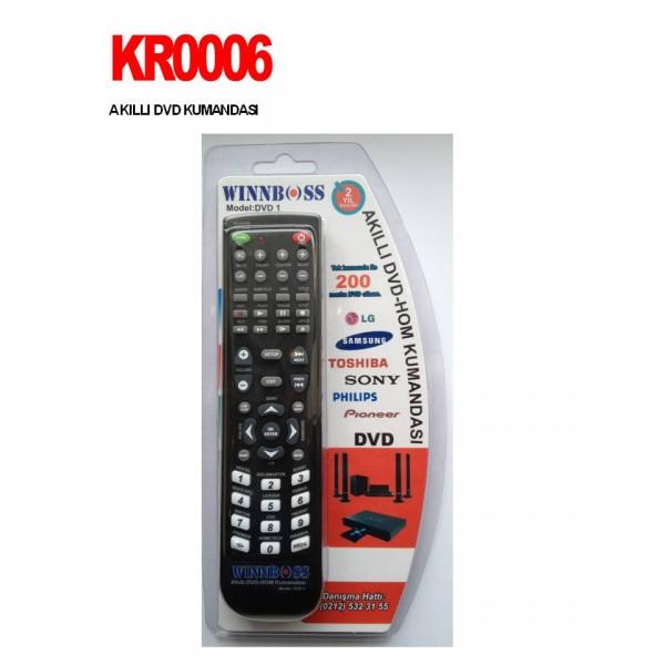 AKILLI DVD KUMANDASI KR0006